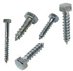 Hexagon head wood screws DIN 571
