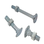 Carriage Bolts DIN 603 with nuts