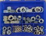 Assortment Hexagonal nuts DIN 934 zinc plated, 106-pieces