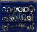 Assortment spring washer DIN127 zinc plated, 116-pieces