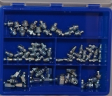 Assortment lubricating nipples, 66-pieces