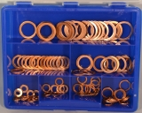 Assortment copper gaskets DIN 7603 121-pieces