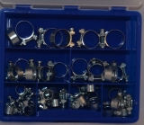 Assortment Norma Hose clamps, 41-pieces