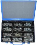 Assortment woodscrews 5+6 mm DIN571 zinc plated 221-pieces