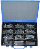 Assortment woodscrews 8 mm DIN571 zinc plated 181-pieces