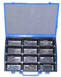 Assortment clamping sleeves 2,0 - 3,5 mm DIN 1481, 361-pieces