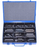 Assortment clamping sleeves 6,0 - 8,0 mm DIN 1481, 96-pieces