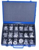 Assortment aluminium gaskets DIN7603, 361-pieces