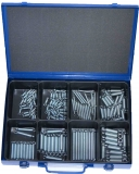 Assortment tension springs, 131-pieces