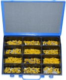Assortment terminals yellow, 4.0-6.0mm², 241-pieces