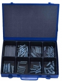 Assortment tension- / compression springs mixed, 111-pieces