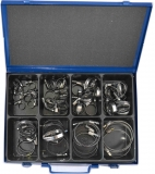 Assortment hose clamps, 9 mm bandwidth, 60-pieces