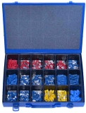 Assortment terminals mixed 0,5-6,0mm², 411-pieces