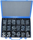 Assortment locking nuts DIN985A2 481-pieces