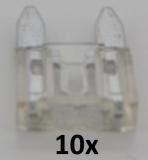 KFZ Mini-Flachstecksicherungen 25A (10 Stück)