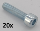Hexagon socket head cap screws DIN 912 M6x40 zinc plated (20 pcs.)